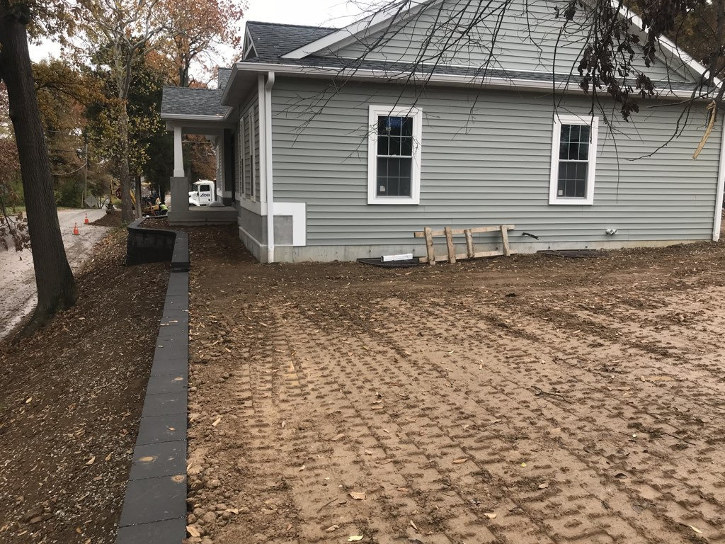 Grading And Drainage Landscaping St Louis Landscape