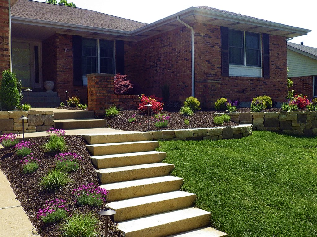 Landscaping Maintenance Design in St. Louis, Arnold, South County - Hardscape And Outdoor Living - Landscaping St. Louis, Landscape